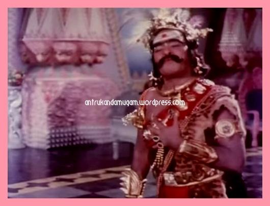 A.Karunanidhi as Nisumban-Aathi Parasakthi 1971-