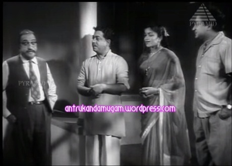 Poongavanam MR.Santhanam-Priyadharshini-TR.Ramachandran-Sivaji-Vidivelli 1958-1