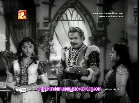 Thikkurissi Sukumaran Nair-L.Vijayalakshmi-Pankajavalli-Gnana Saundari 1961-1